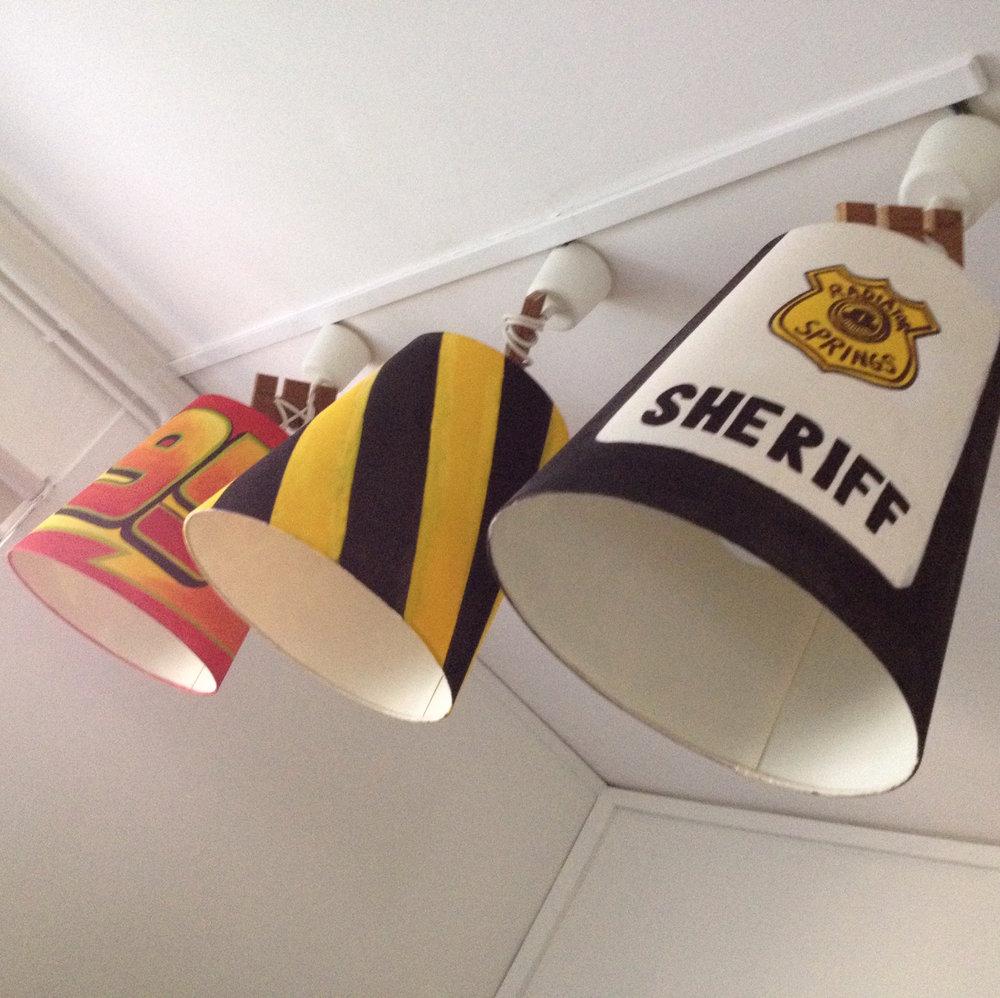 Cars lampshade -