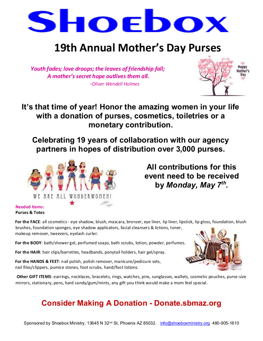 Mother\'s Day — Shoebox