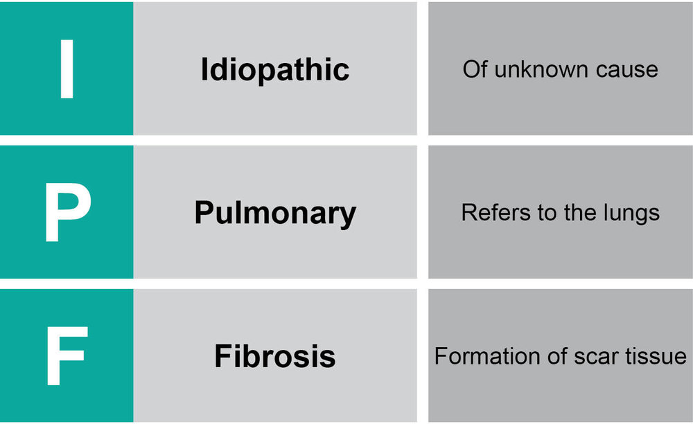 Figure 1- Idiopathic Pulmonary Fibrosis definition (adapted from- ¹)
