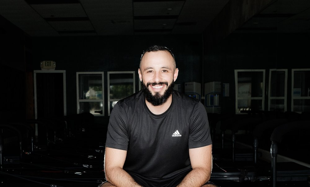 - RicardoRicardo is the Co-Owner of Bare Fitness OC. In 2008 he joined the military as a medic which sparked his passion for health, fitness and helping people. After the military Ricardo started working as an Electrician in the solar industry and traveled as far as Puerto Rico to install solar and energy storage systems after the hurricane. Exercise has been his passion but was always second to his career as an Electrician. It wasn't until 2018 that he finally decided to dedicate his life to working in the fitness industry. He became a partner at Bare Fitness OC. Having earned training certificates in Lagree, TRX and Cycle. He is dedicated to help and train others and give them a challenging and unique class experience.