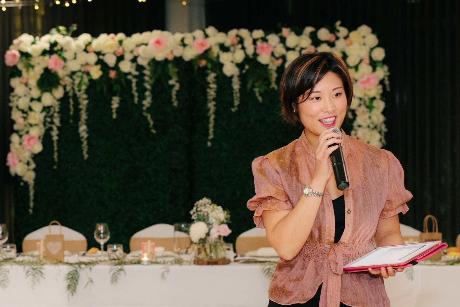Melbourne Chinese Wedding Mc And Singer Nikki Zhao