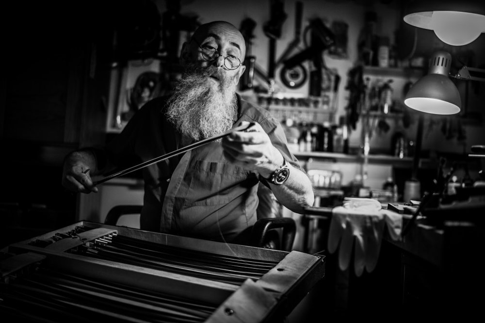 JANOS MARKUS BARBAROSSA – THE LUTHIER -