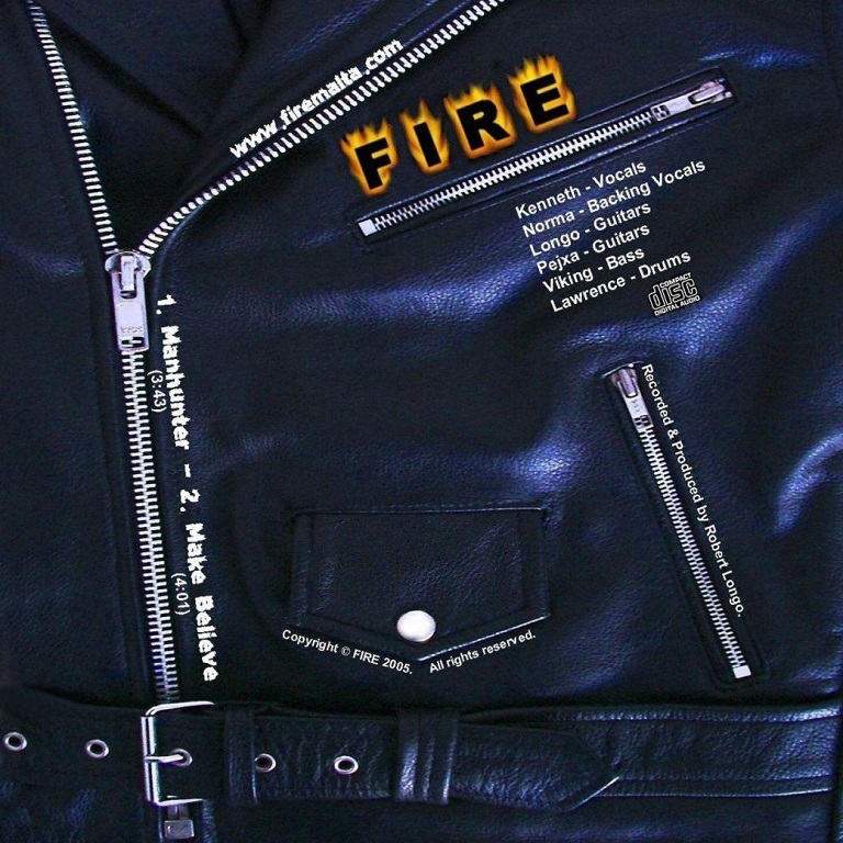 Manhunter & Make Believe singles - Fire 2005