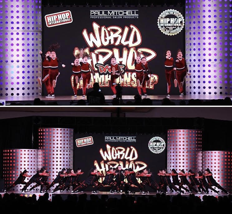 Semi-Finalists at The World Hip Hop Dance Championships, 2018