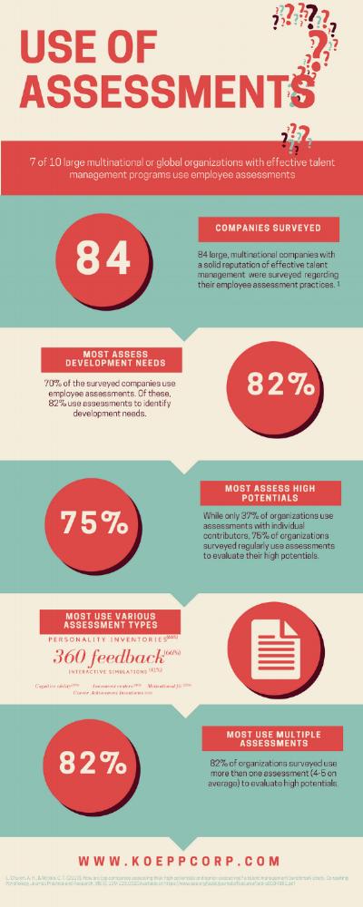 Assess infograph