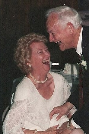 Papa with my Nana when they were married 24 years back.