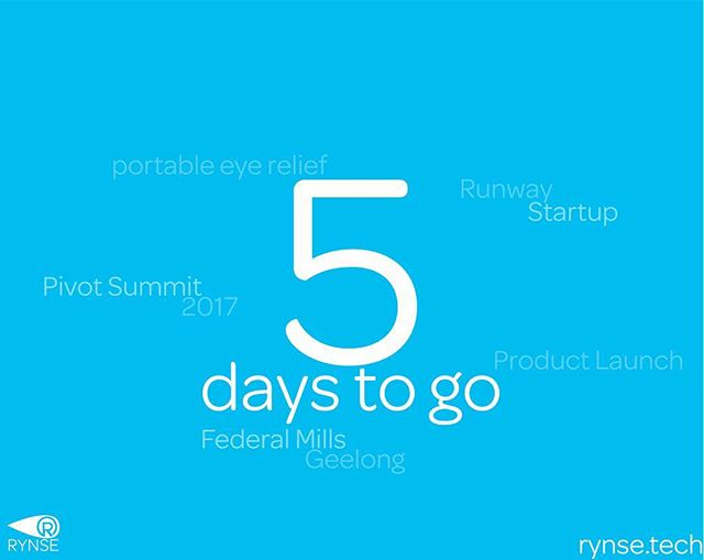 Only 5 days until @pivotsummit and the launch of @rynse_!! Come down and see how our stand turns out!!