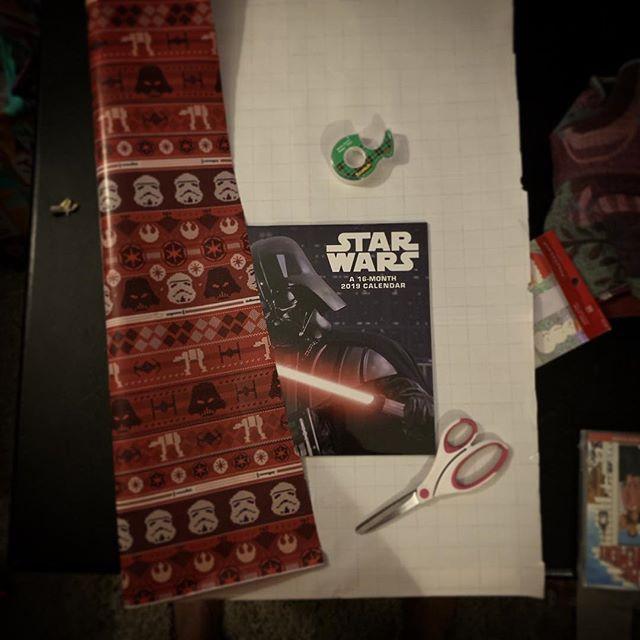 #SpoiledKid. . . #YearOfTheVet  #StarWars #Christmas