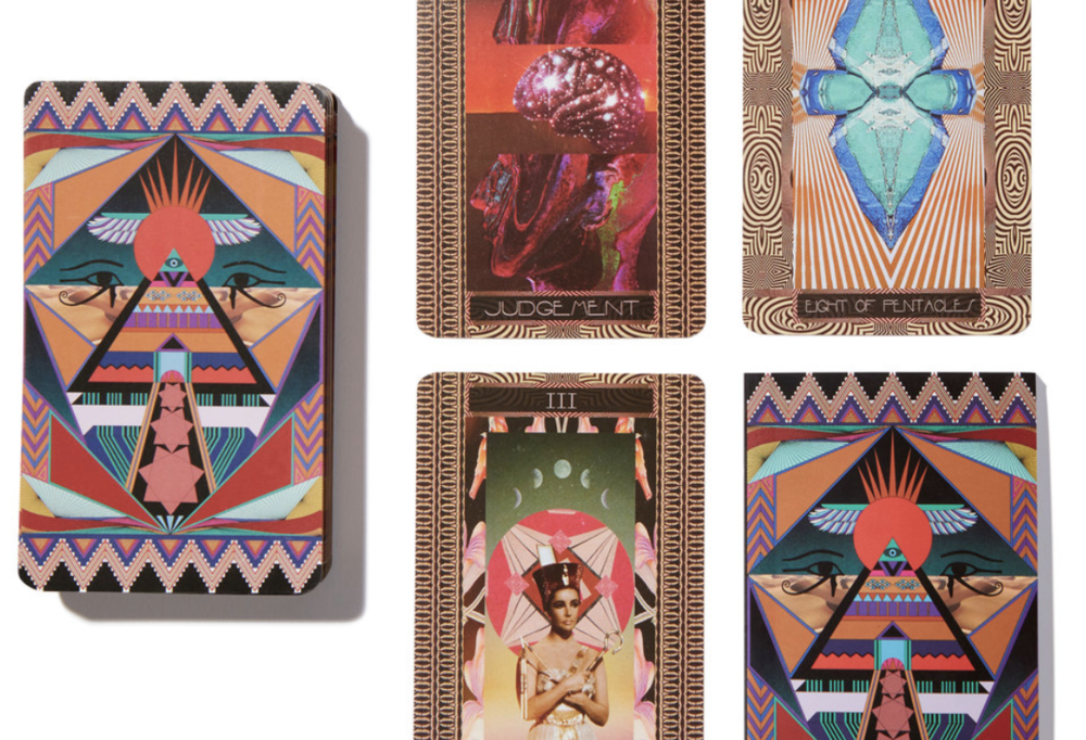 Serpentfire Tarot cards, available on Goop