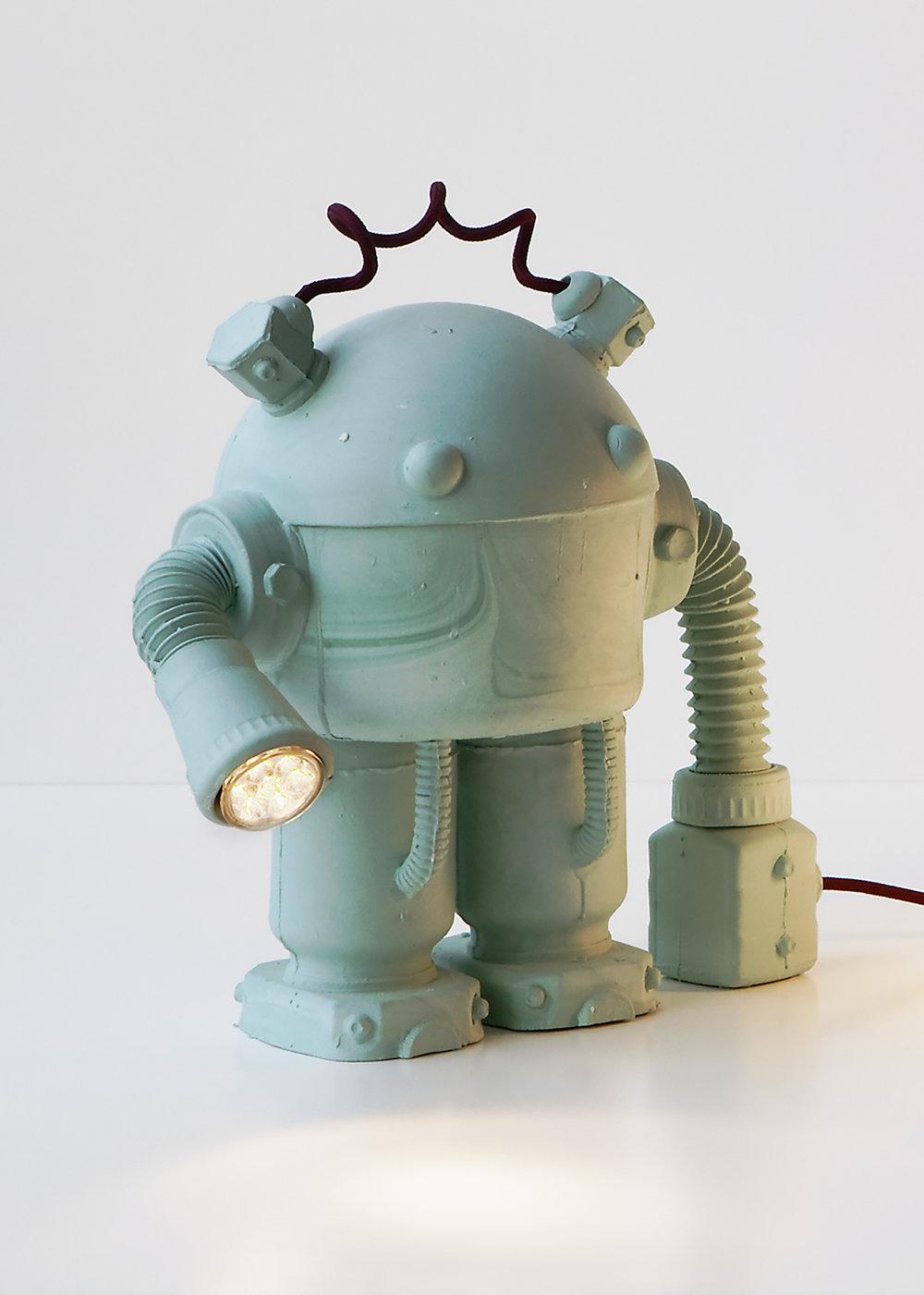Green robot, 2011