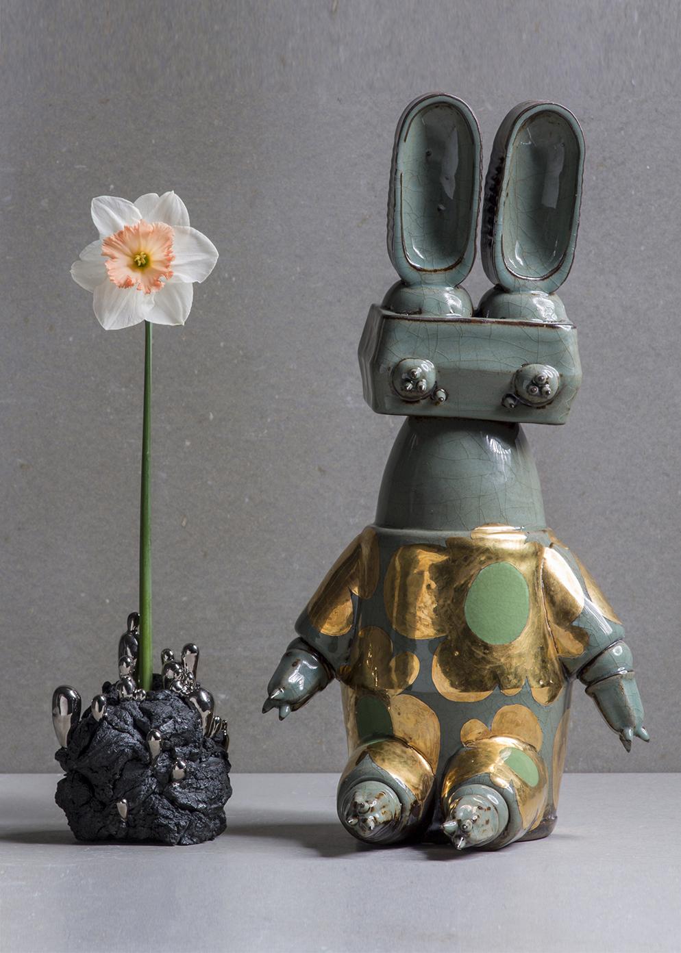 Philosopher's stone and Flowery Rabbit, 2018