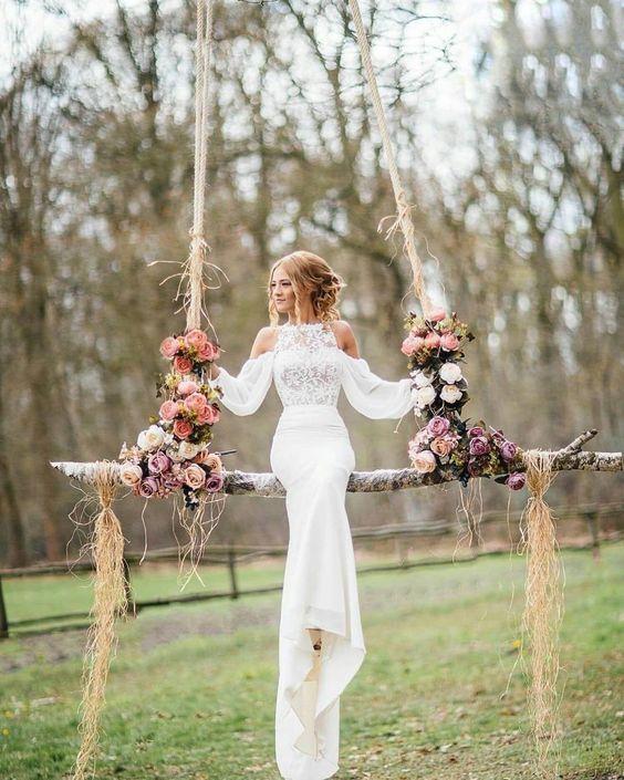 Bohemian Style Bridesmaid Dresses