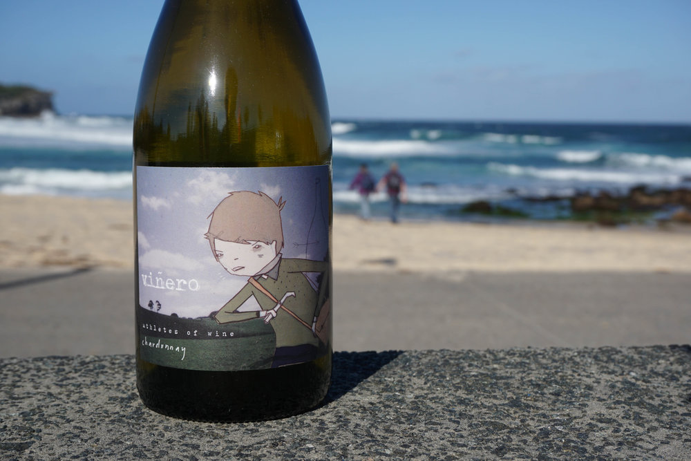 2015 Athletes Of Wine 'Viñero' Romsey Chardonnay  Organic Practices  Vineyard: Romsey, Macedon Ranges Harvest: 18th March; 1.8 ton/acre Elevation: 450m Soil: Volcanic, red clay loam  Wild yeast fermented and aged on lees in hogsheads for 10 months (one new Francois Freres puncheon, plus older Saint Martin Francois Freres); no battonage; no malo; bottled unfined and unfiltered. 60ppm total SO2   Total production: 175 dozen