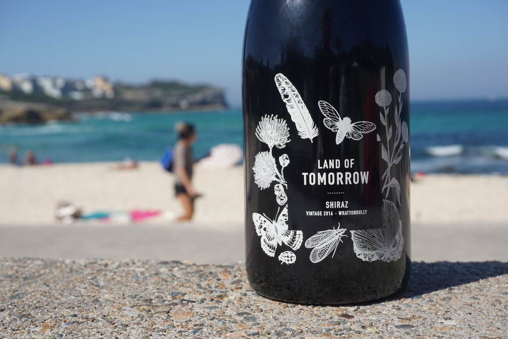 2016 Land of Tomorrow Shiraz  Handpicked as bunches then basket pressed as 30% wholebunch and the remainder destemmed. Wild fermented for 12 days in one tonne open fermenters and followed by full natural malolactic fermentation. The wine is racked twice before being sent to bottle without finings.  Aged for 10 months in old French puncheons and 80ppm sulphur added.