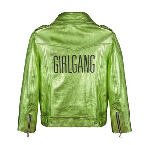 Sara Bailey - Green Girlgang Jacket