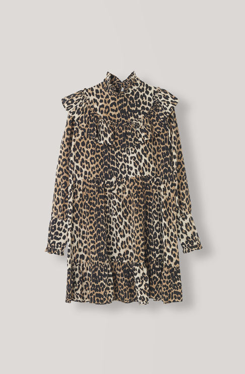 Ganni Fayette Silk Dress