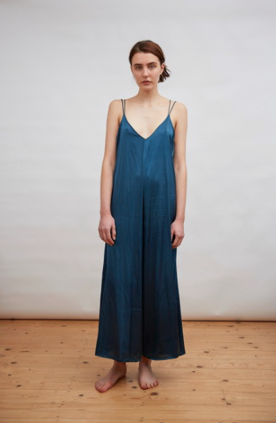 Cloe Cassandro Bianca Jumpsuit in Midnight Blue