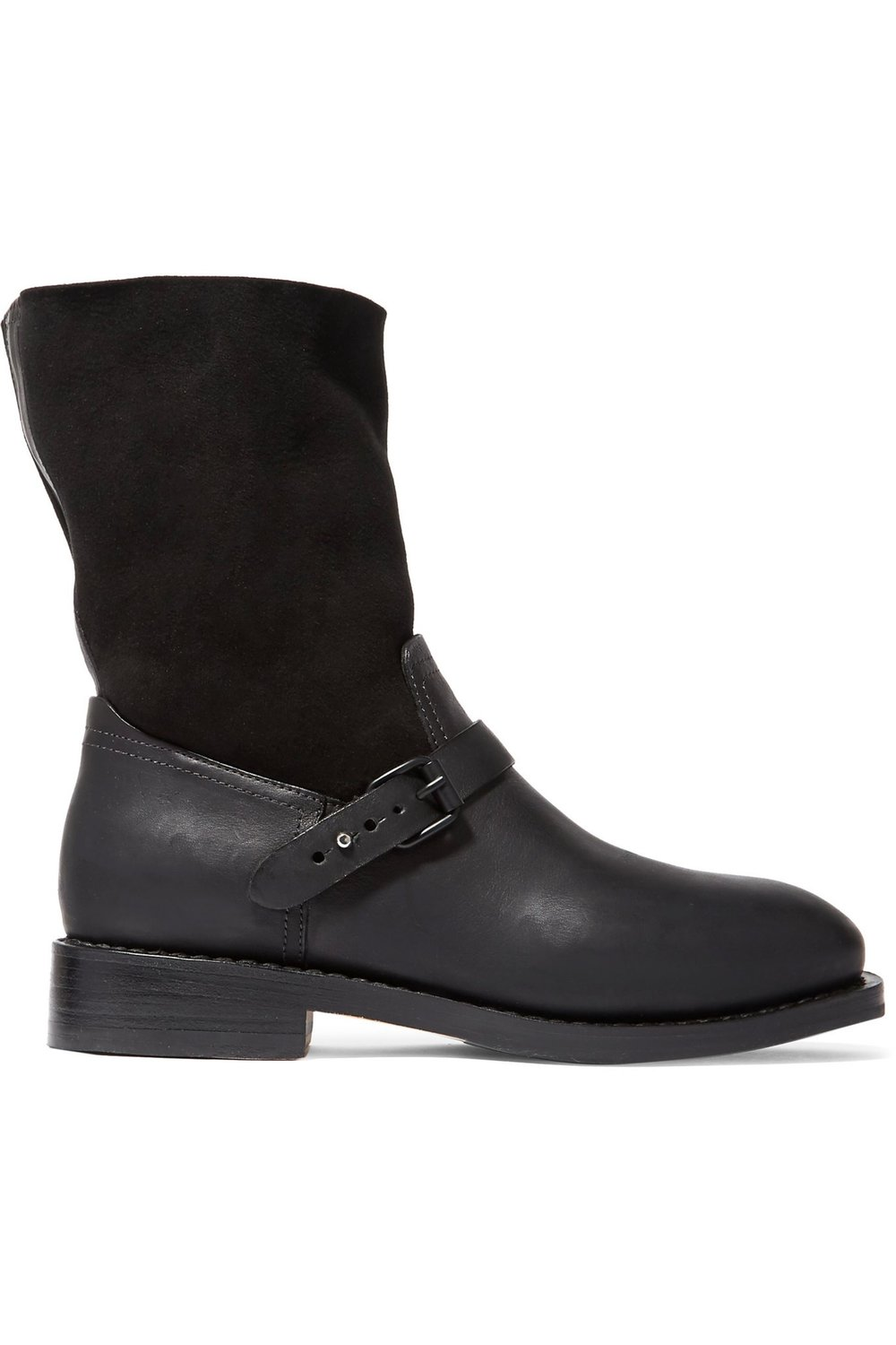 Rag & Bone Oliver Shearling and Leather Boots