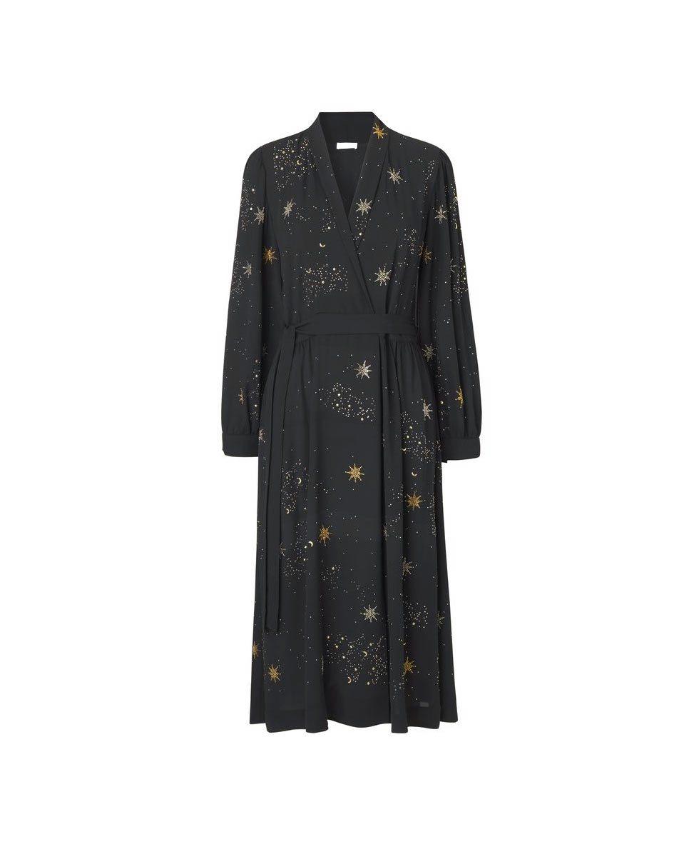 Stine Goya Micaela Star Wrap Dress