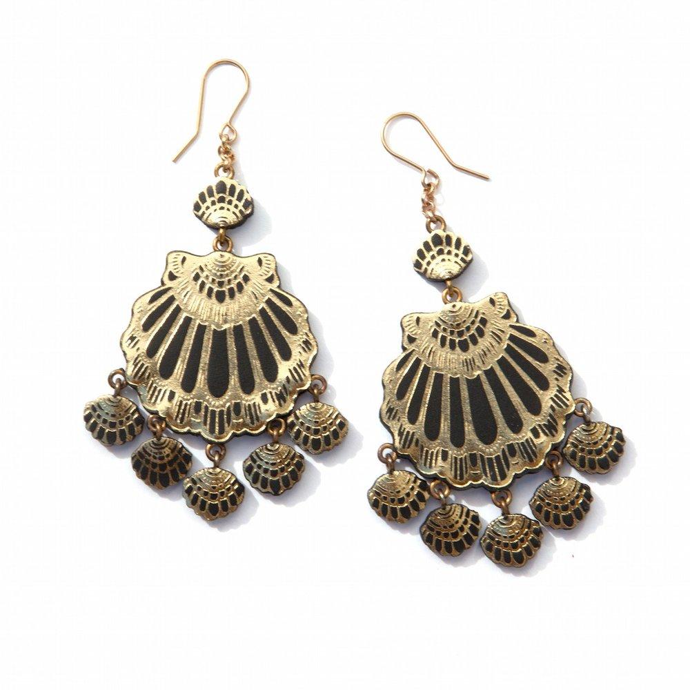 Rosita Bonita Gypsy Siren Chandelier Earrings