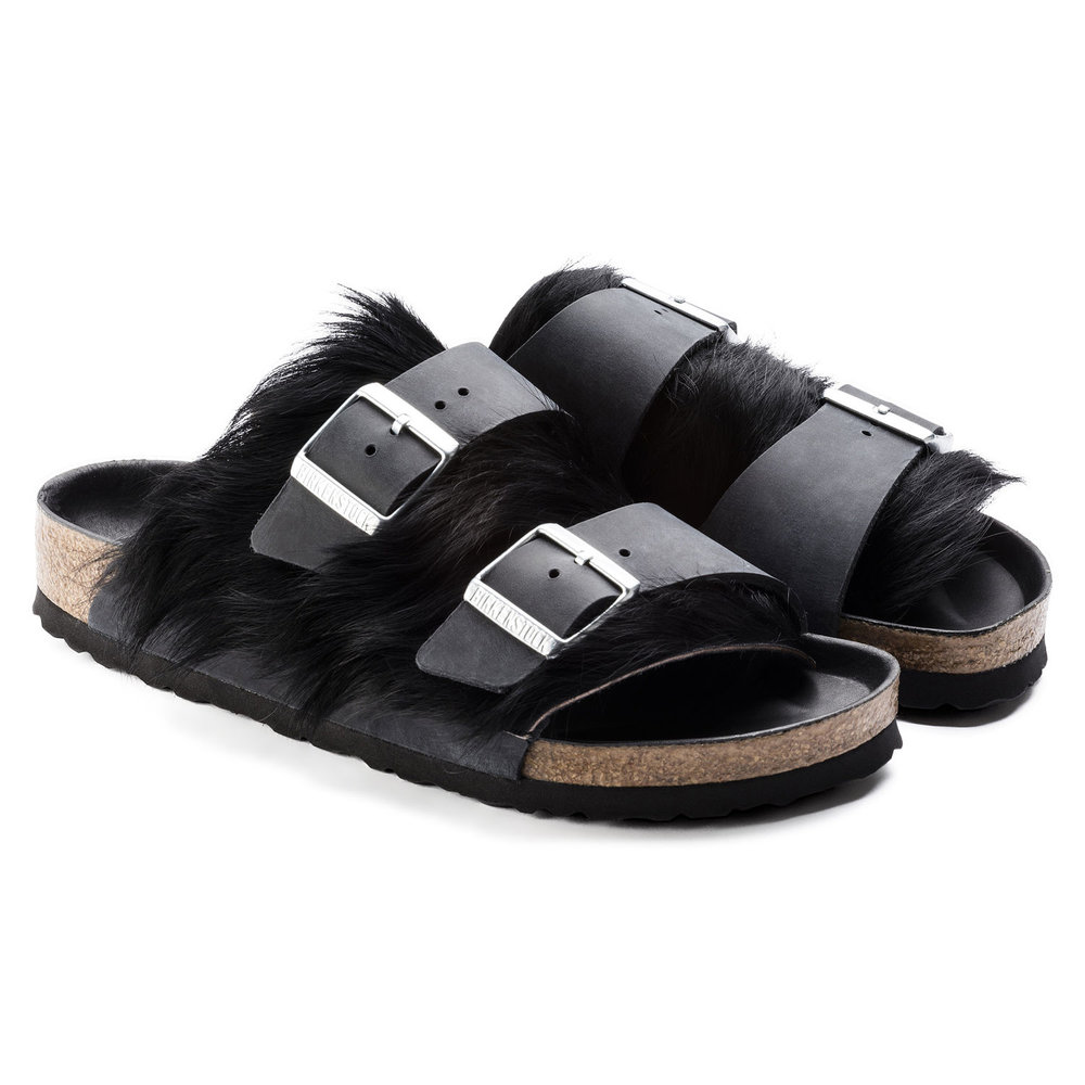Birkenstock Arizona Fur Sandals
