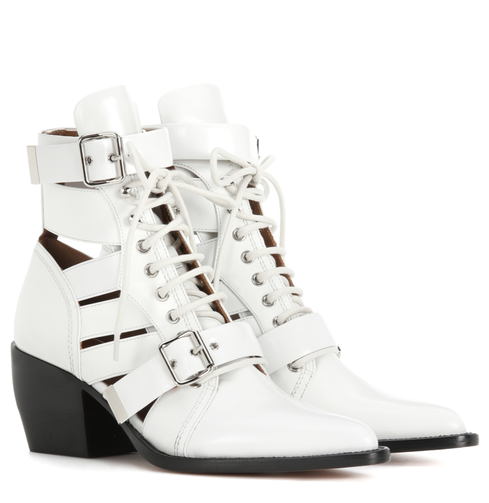 Chloe Rylee Medium Leather Ankle Boot