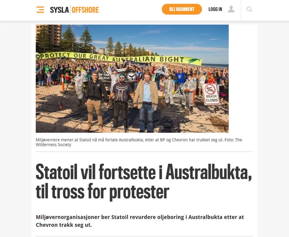 Aftenbladet Protester