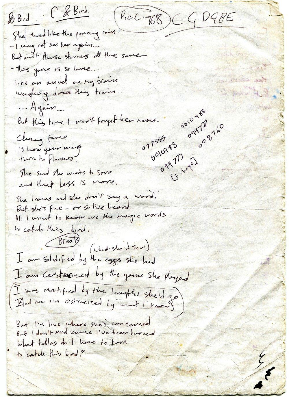L.A. Salami – & Bird Lyrics