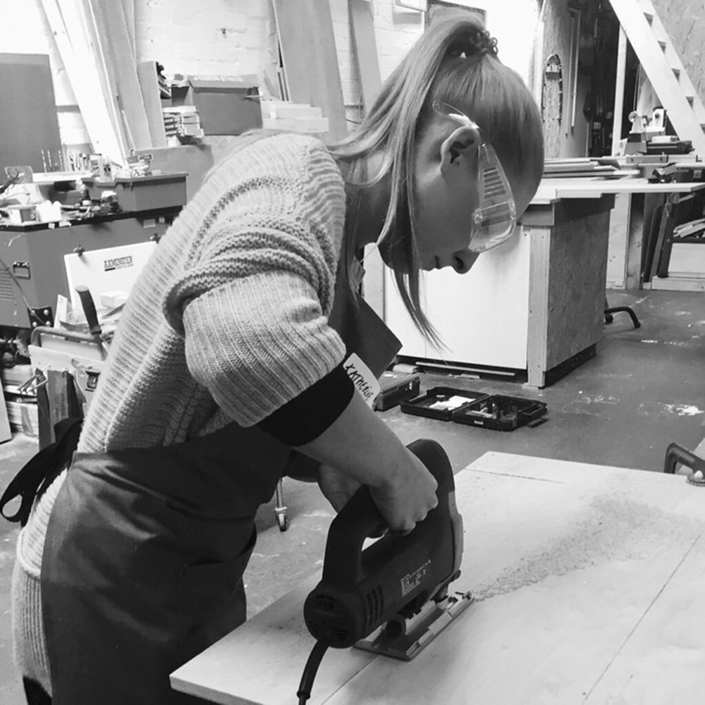 I made it  - girls with power tools at Dual Works 45.jpg