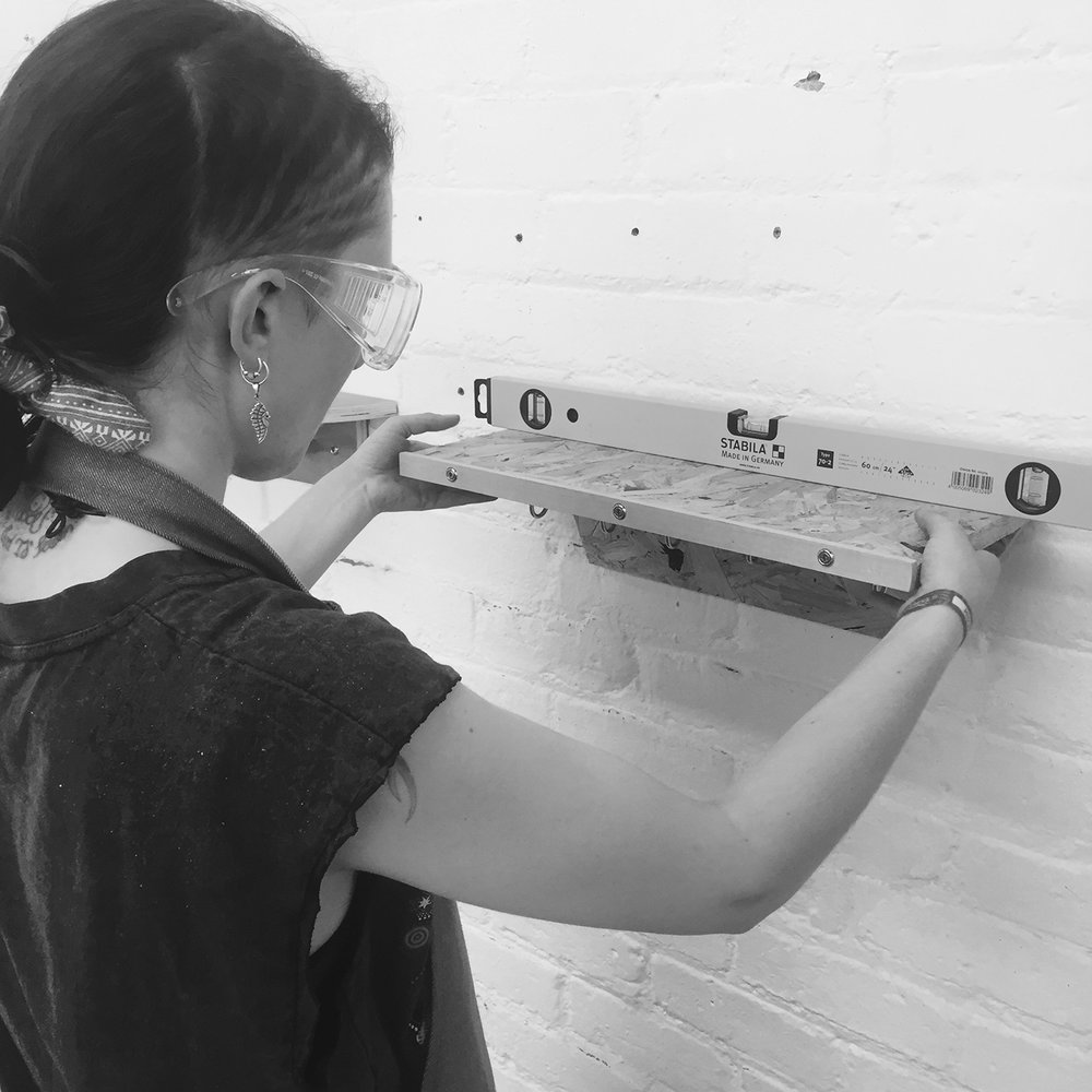 I made it  - girls with power tools at Dual Works 2.jpg
