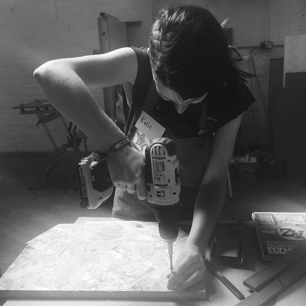 I made it  - girls with power tools at Dual Works 8.jpg