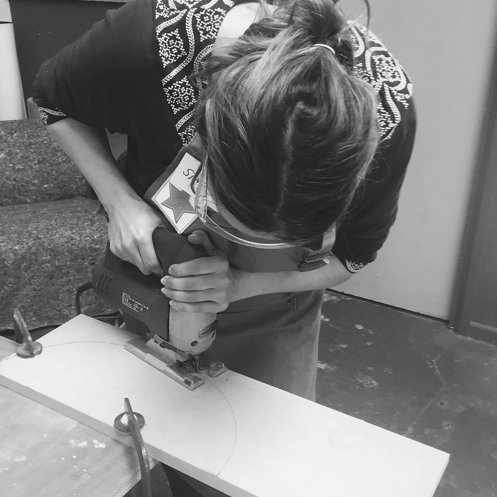 I made it  - girls with power tools at Dual Works 11.jpg
