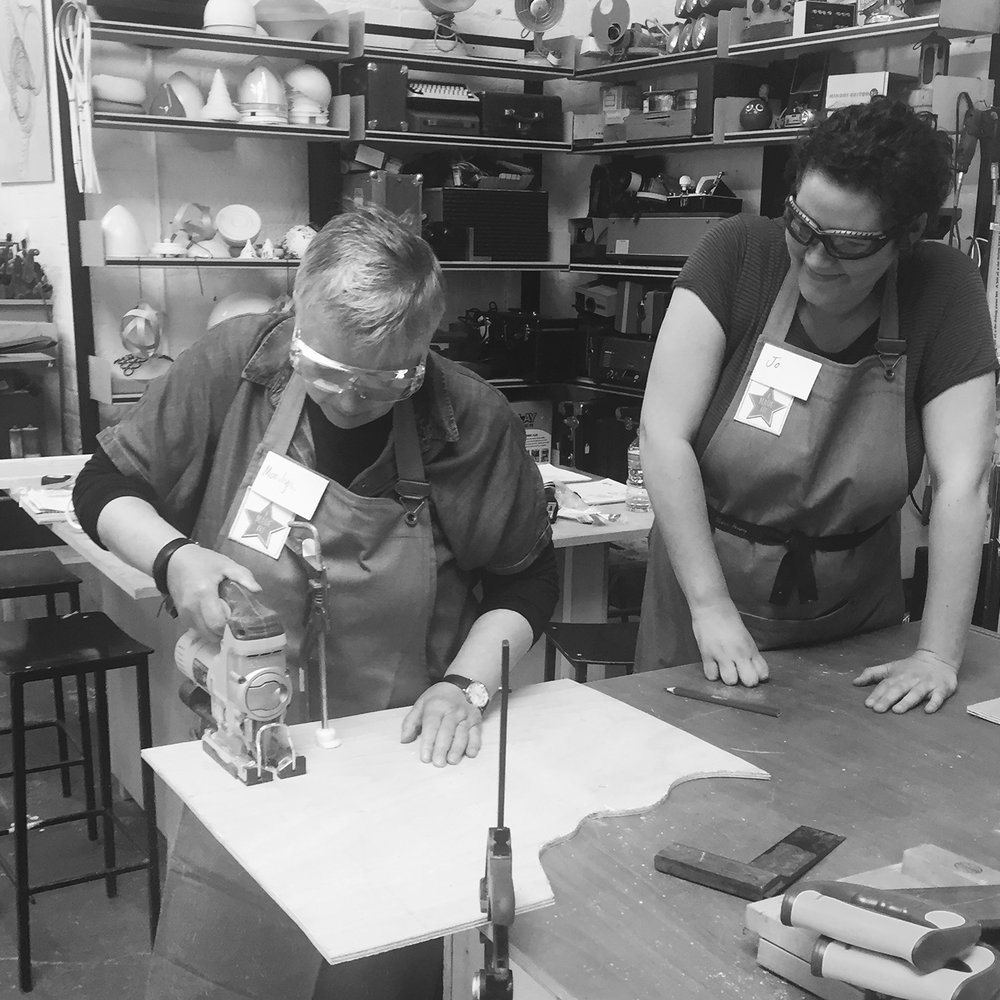 I made it  - girls with power tools at Dual Works 12.jpg