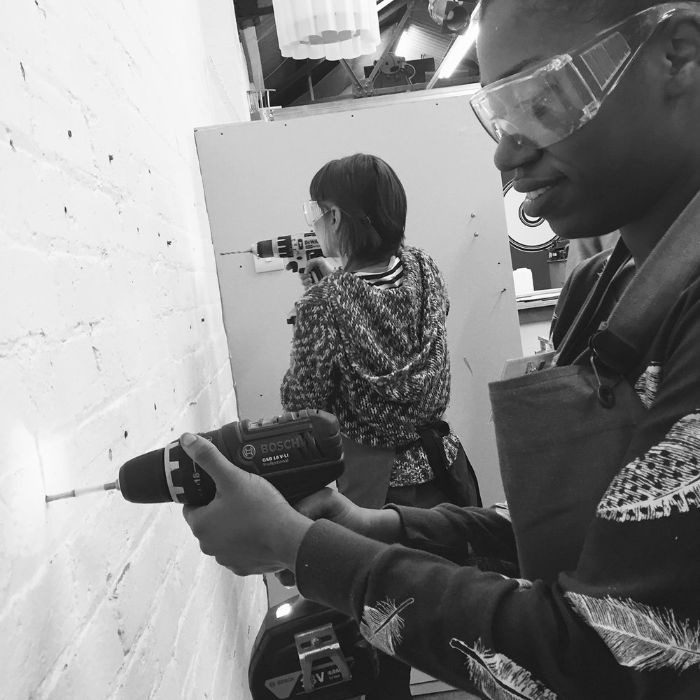 I made it  - girls with power tools at Dual Works 15.jpg