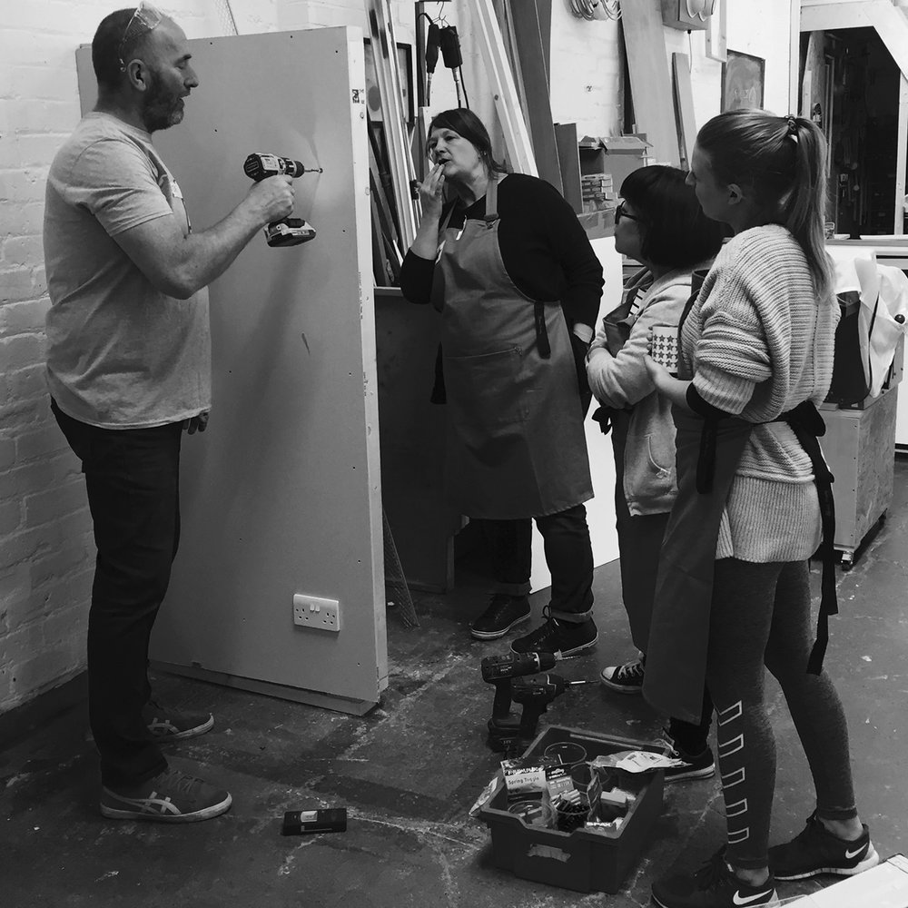 I made it  - girls with power tools at Dual Works 22.jpg