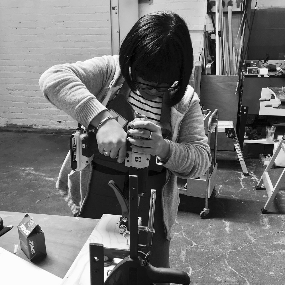 I made it  - girls with power tools at Dual Works 23.jpg
