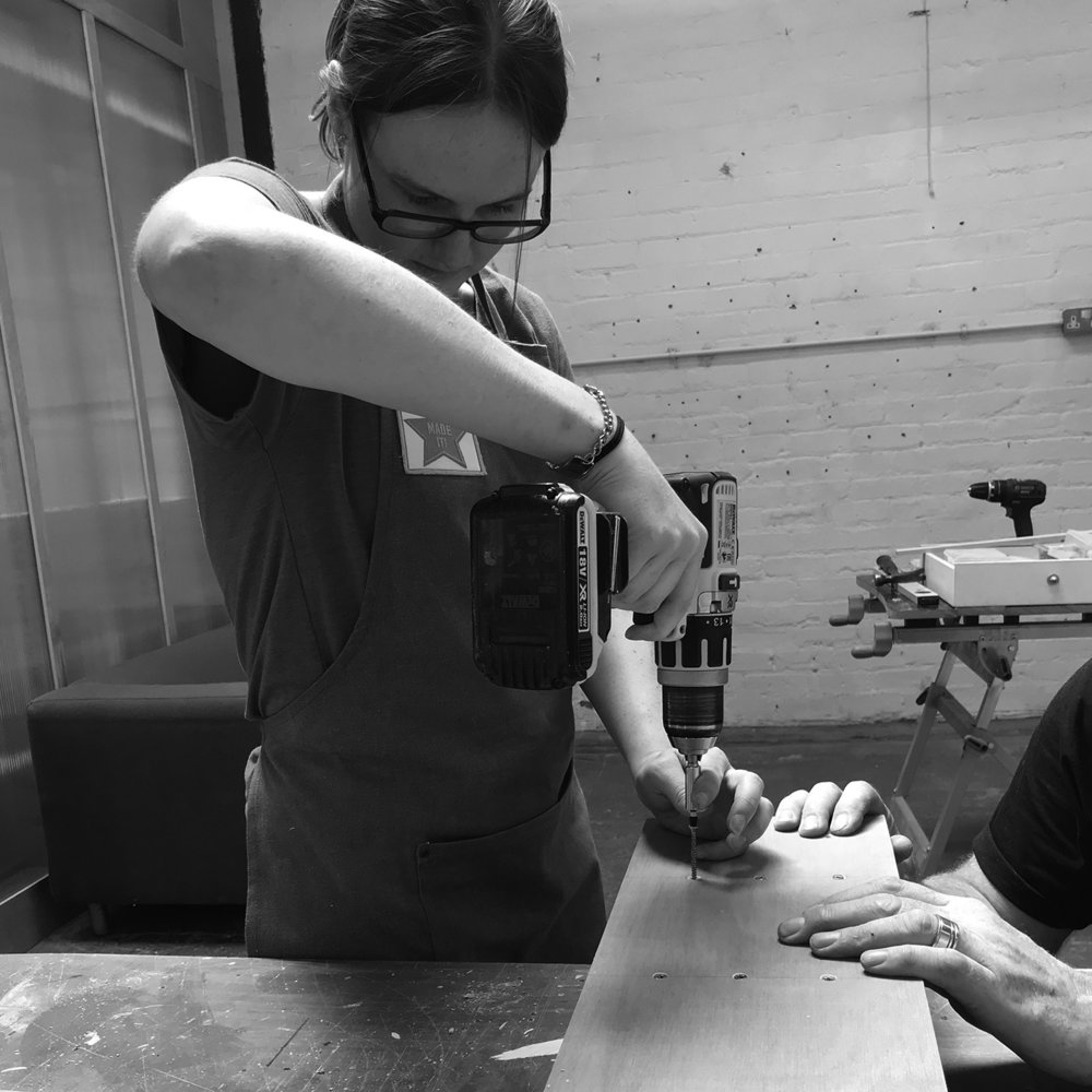 I made it  - girls with power tools at Dual Works 28.jpg