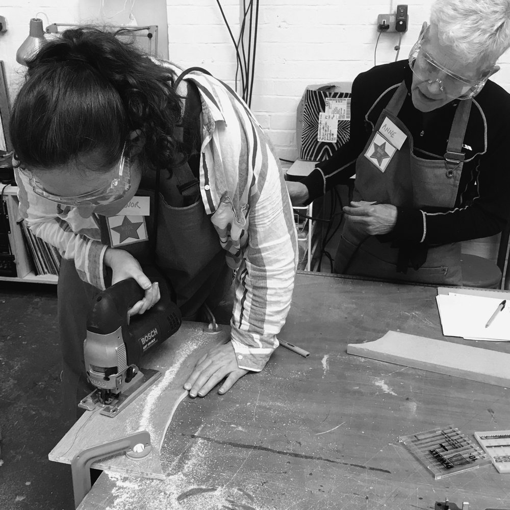 I made it  - girls with power tools at Dual Works 43.jpg