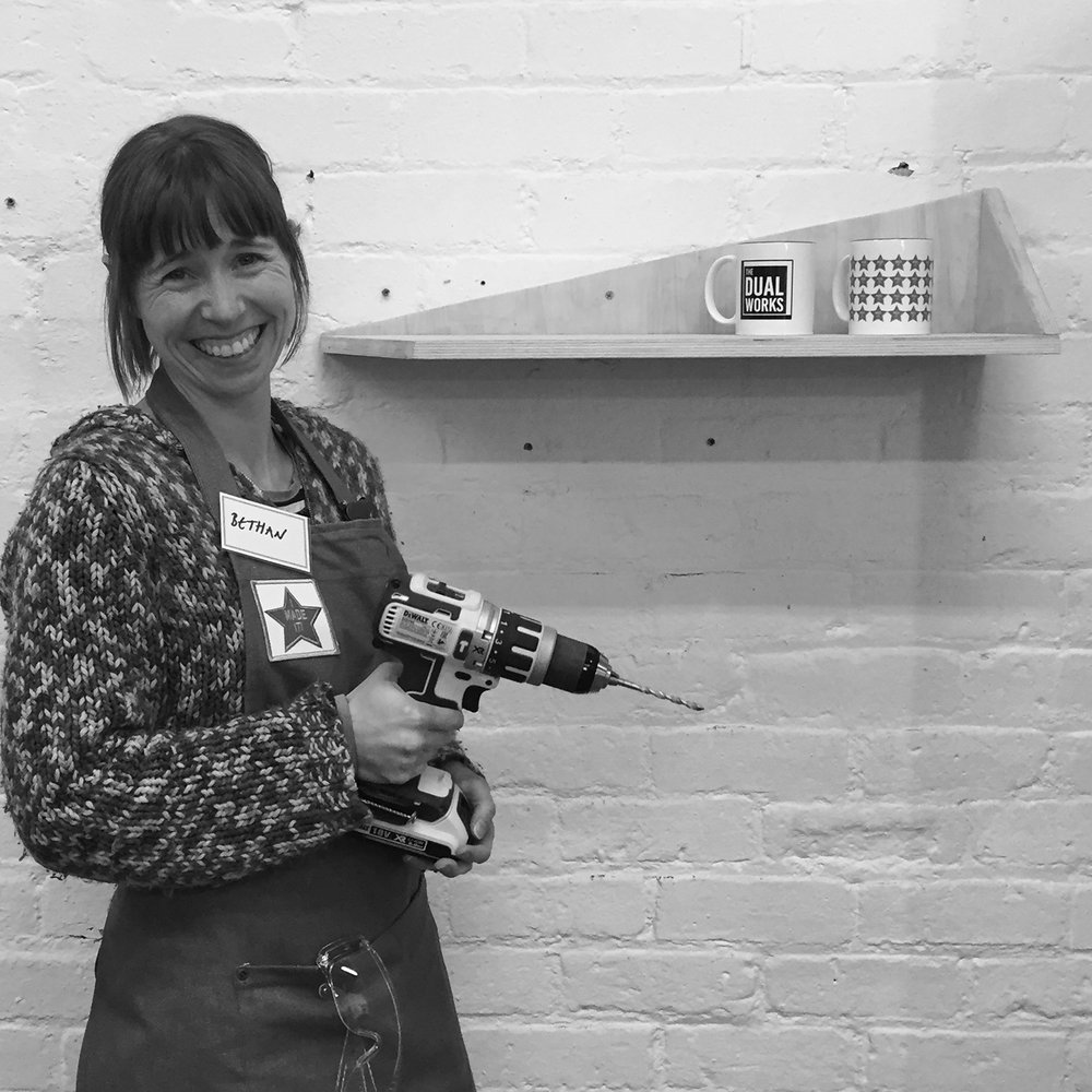I made it  - girls with power tools at Dual Works 13.jpg