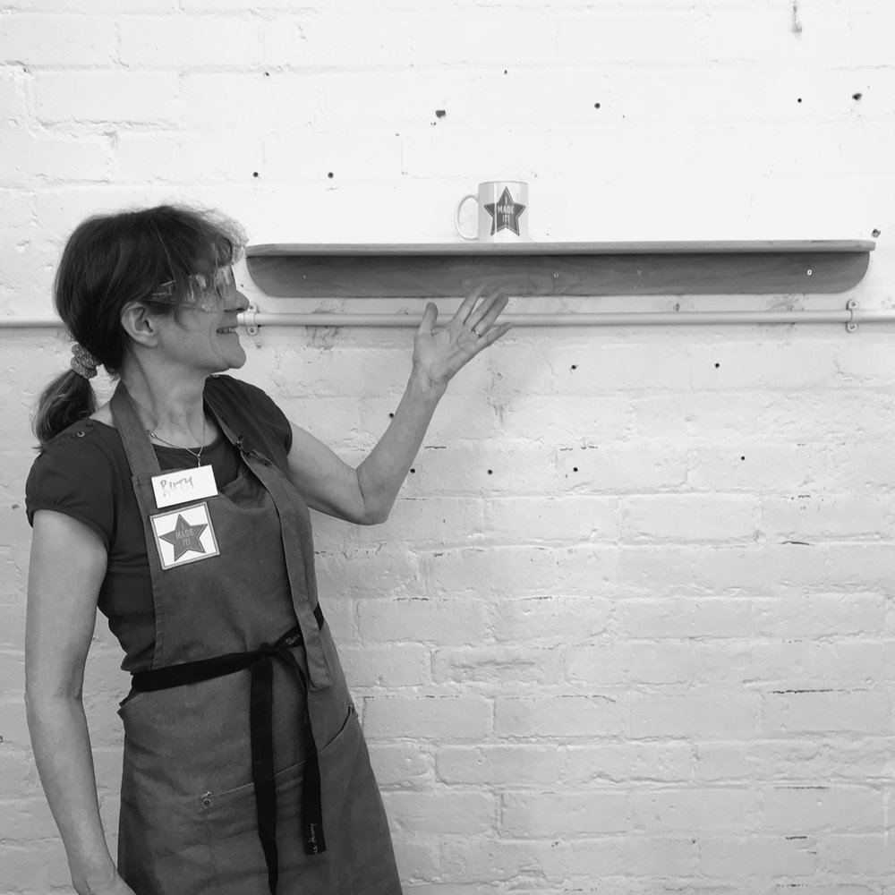 I made it  - girls with power tools at Dual Works 37.jpg