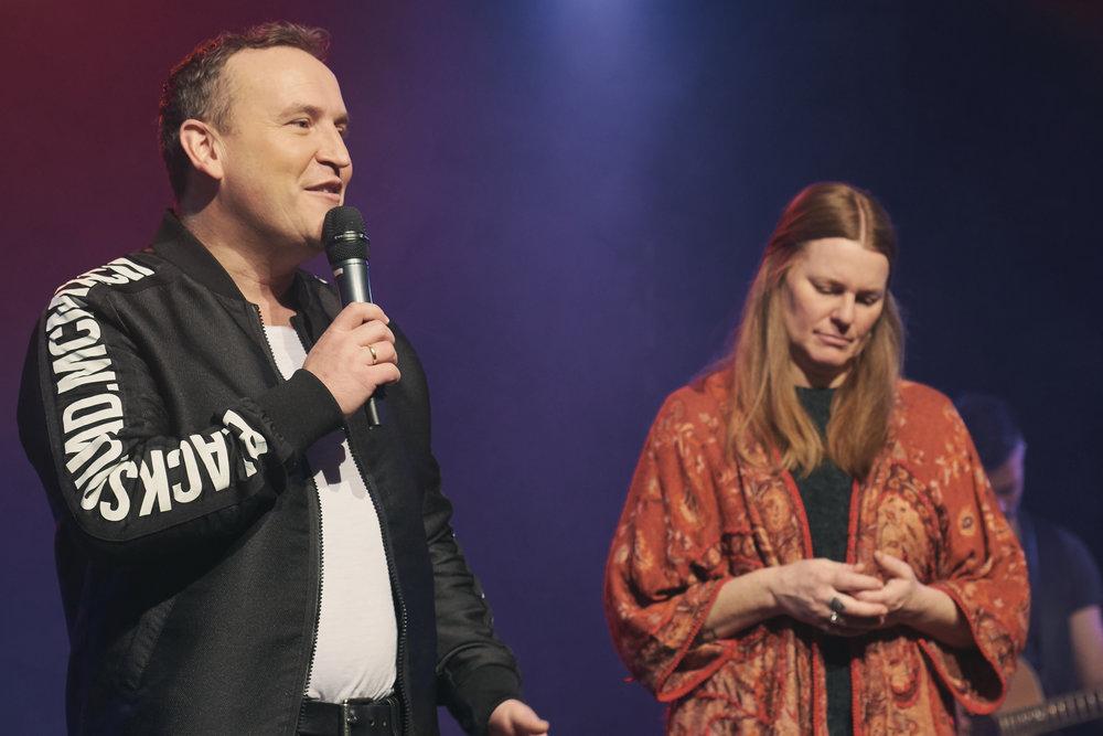 Mit Pastor Dan Schmid im ICF Stuttgart