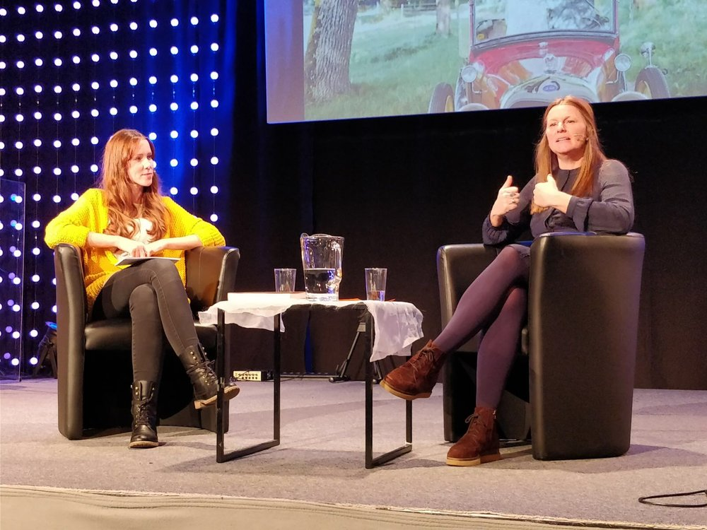Mit Stefanie Schneider in der GVC Züri Oberland Dezember 2017
