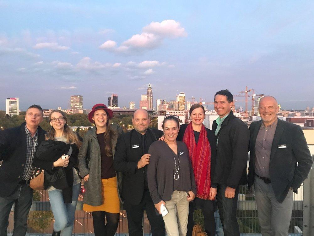 Mit dem Team vom Fontis Verlag an der Frankfurter Buchmesse 2017