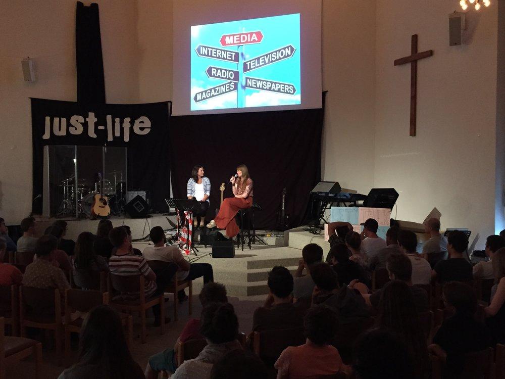 Just-Life Gottesdienst Baptistengemeinde Bülach 2015