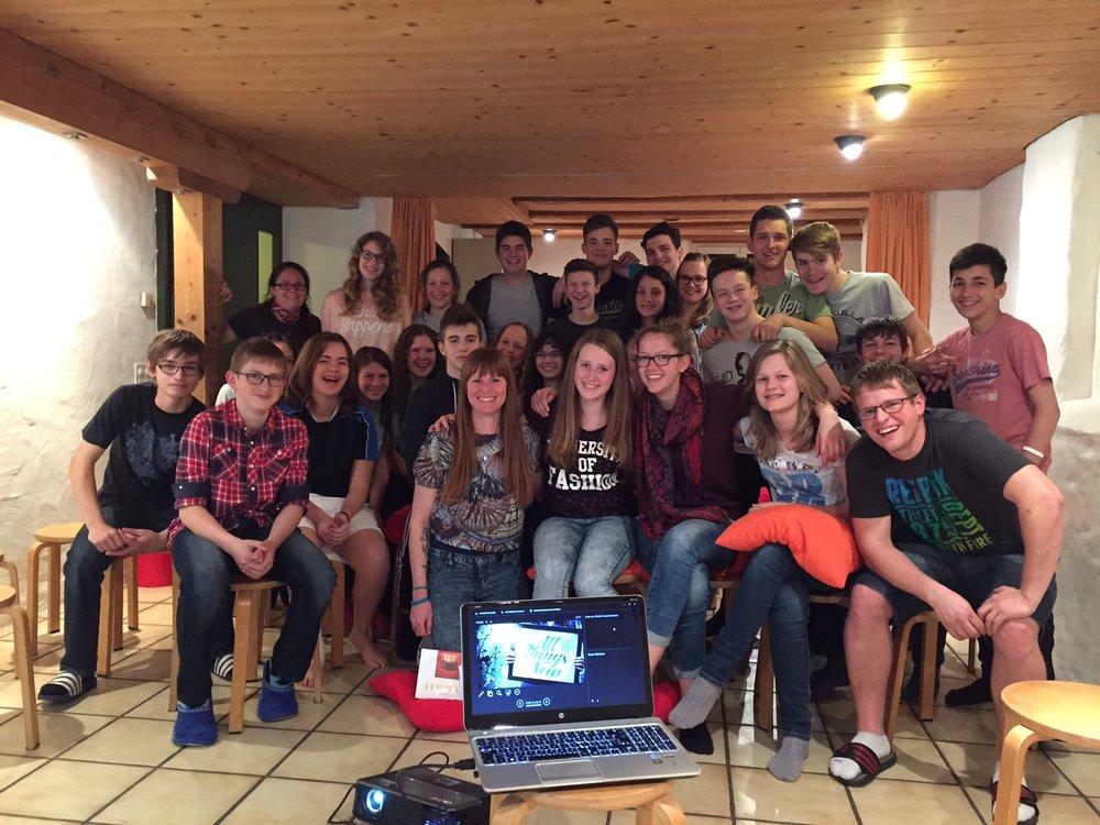 Mit den Teenies der FEG Sirnach 2015