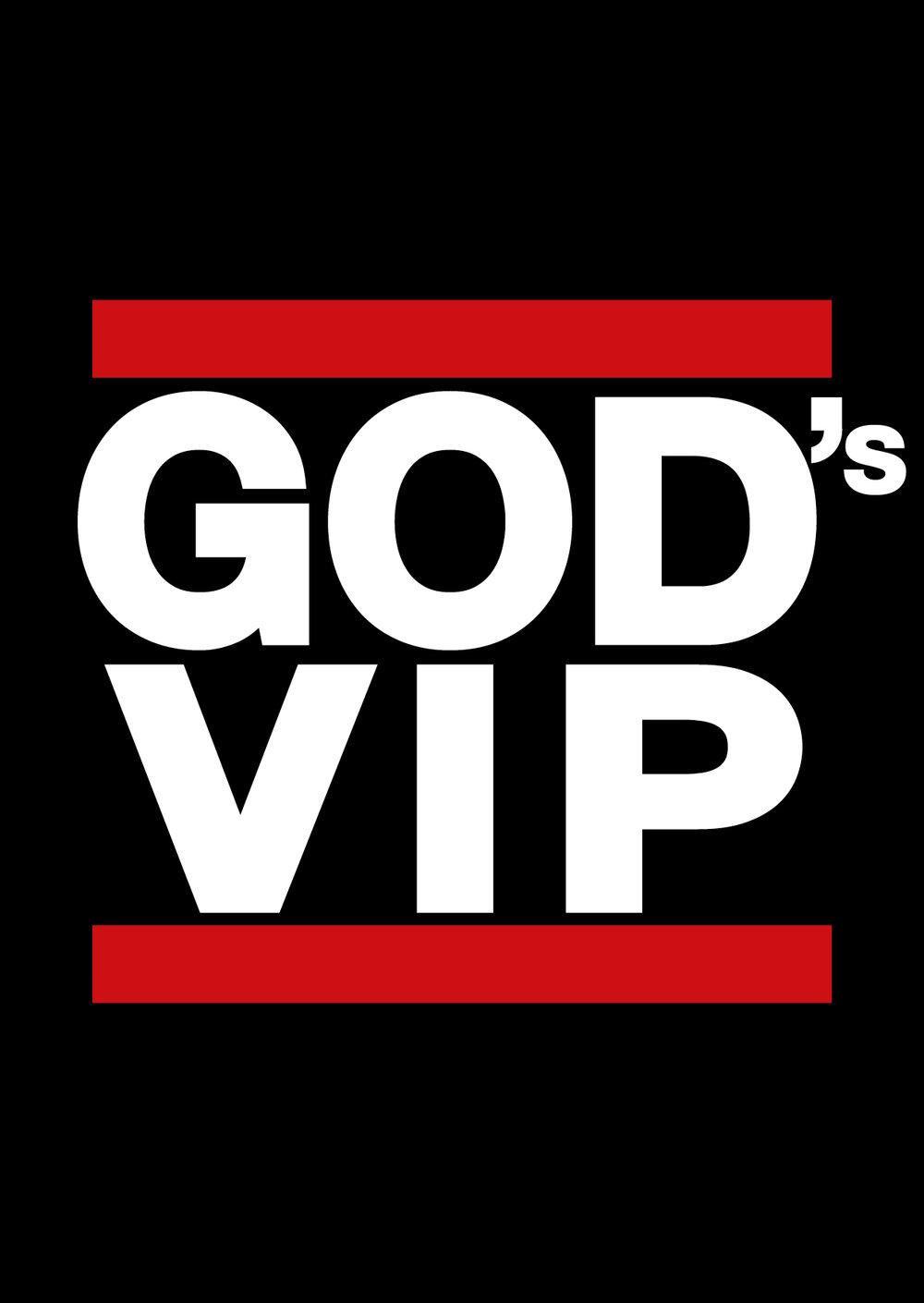 Postkarte GOD's VIP - Run DMC Edition - Postkarte A6 mit folgendem Text auf der Rückseite:❤️ DU BIST GELIEBT 💲 DU BIST WERTVOLL 💎 DU BIST EINZIGARTIG 🥇 DU BIST ANERKANNTDie Bibel: 1. Johannes 3,1bis 10 Postkarten gratis, Email schreiben mit Postadresse größere Mengen auf Anfrage