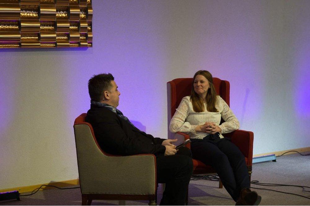Chrischona Kirchleerau Februar 2018    Talk mit Jim Bühler