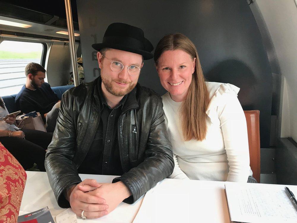 Auch Schriftsteller und Musiker Jürg Halter «Kutti MC» ist Teil meines Buches!