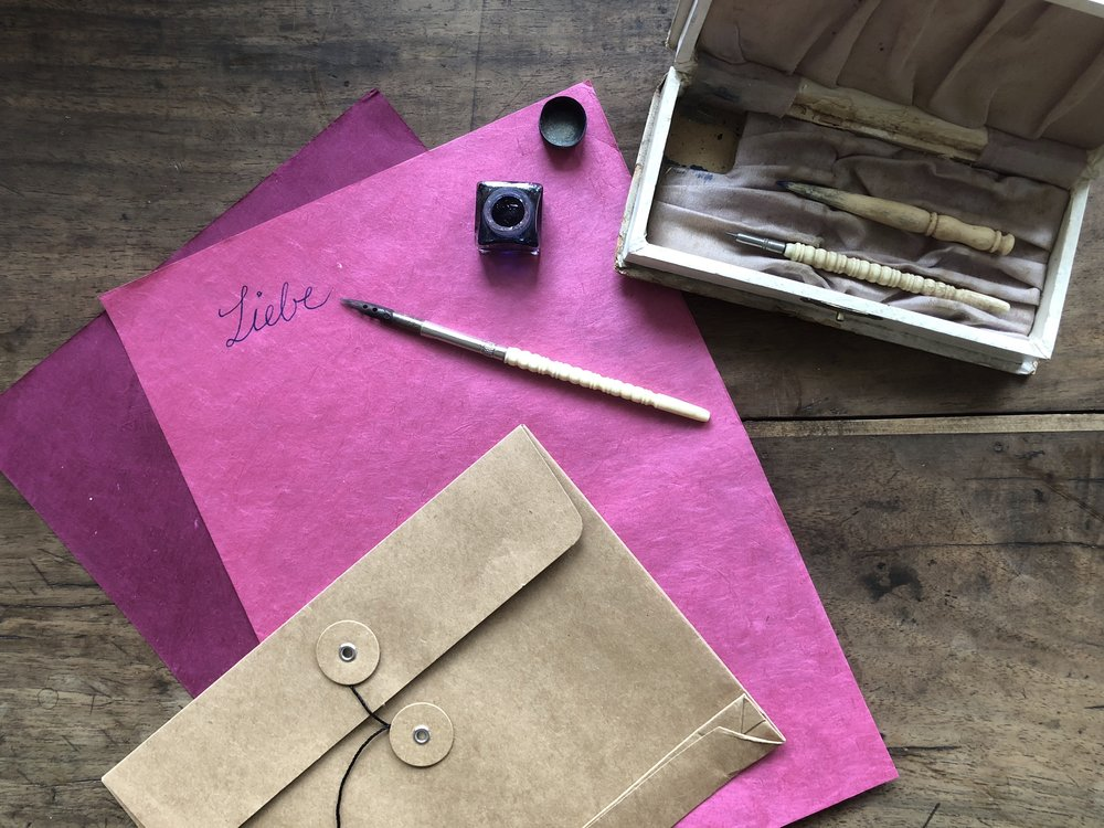 Bereite Freude und schreib einen Brief! Am 1. September ist Welttag des Briefeschreibens!