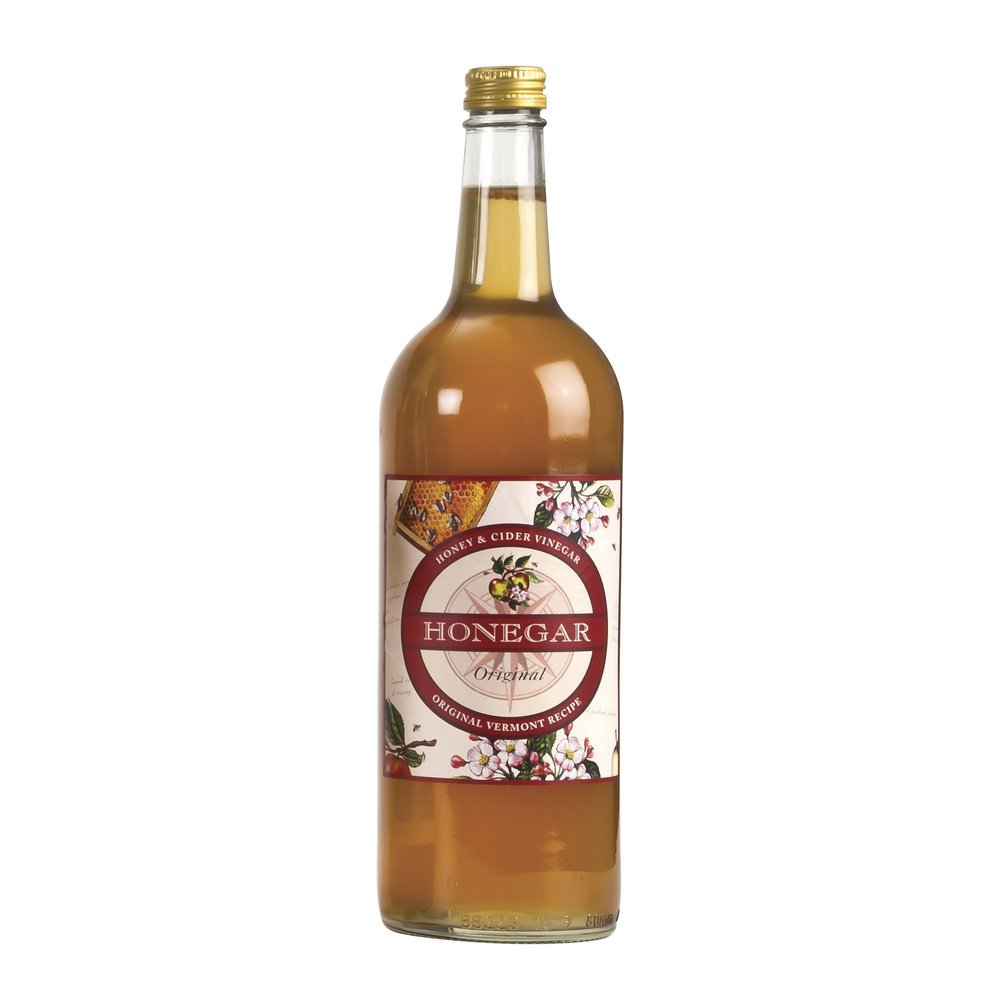 Honegar - Honegar is a blend of unpasturised honey and cider vinegar made from fine whole dessert and cooking apples.We recommend a tablespoon of Honegar in a glass of water taken twice daily.500ml and 1000ml